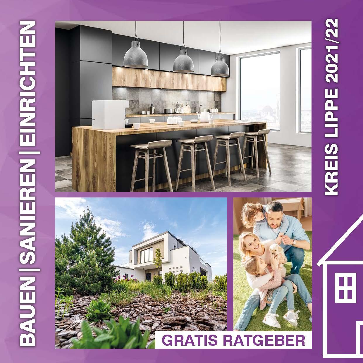 Titel Planen Bauen Sanieren Kreis Lippe 2021/22